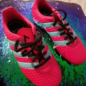Adidas soccer cleats size 13 girls